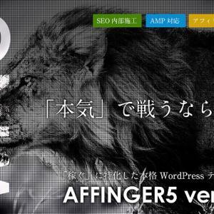 AFFINGER5(アフィンガー5)は難しい?ワードプレス初心者でも使えるの?⇒悩むより慣れればOK!