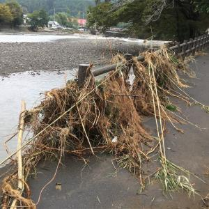 悲報 台風19号の爪痕 巾着田キャンプ場