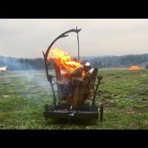 《キャンプギアを考察してみた》TRIPATH PRODUCTS  GURUGURU FIREとコストコの肉の相性を試してみるとどうなるか《そとあそびNO.83》