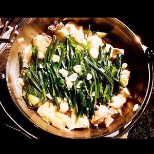 《キャンプの『鍋』と言えば やっぱり『もつ鍋』》UNIFLAMEの焚火台の組み合わせで鍋料理を更に旨くしよう 《そとあそびNO.165》