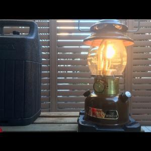 《キャンプギアを考察してみた》vol.5 Colemanのガソリンランタンを灯すとどうなるのか? 《そとあそびNO.180》