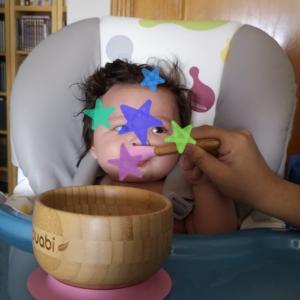 5ヵ月2日 - おもちちゃん、離乳食始めました!