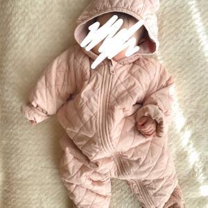4m11d 赤ちゃんの冬の防寒対策