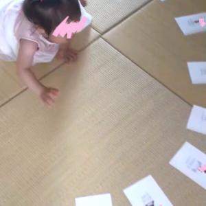 1y1m1d 1歳お誕生日会レポ②定番の「選び取りカード」と「一升餅」をやりました