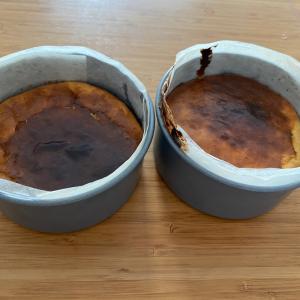バスク風チーズケーキ作り
