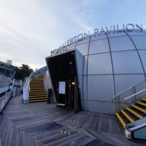 海に浮かんでるような球体のレストラン「MONTI」でランチコースを堪能