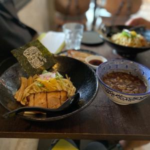 ほんのりピリ辛つけ麺のTORASHO