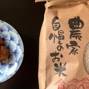 <暮らし>美味しいお米をいただきました