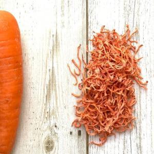 <乾物レシピ>#10  生野菜と乾燥野菜の重さを測ってみました