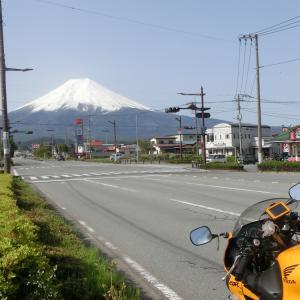 CBRで仲間と富士山方面に行ってきた!