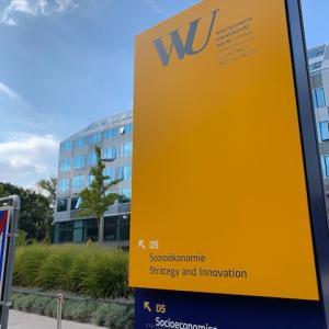 留学先:ウィーン経済・経営大学について。