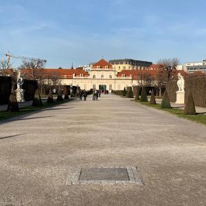 ベルヴェデーレ宮殿(下宮)へ行ってきた感想