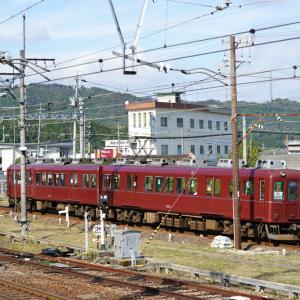 懐かしの伊賀鉄道の電車。