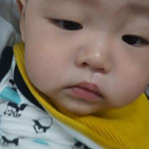 孫ちゃん、6ヶ月になりました。