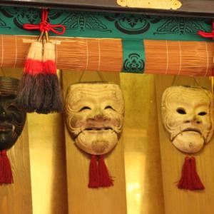 勝山市 滝波のお面さん祭り 2月11日