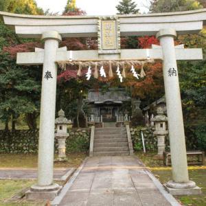 永平寺町 松岡神明、明神社と芝原鋳物師を伝える御牒