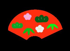 扇子のイラスト 3