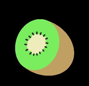 キウイのイラスト