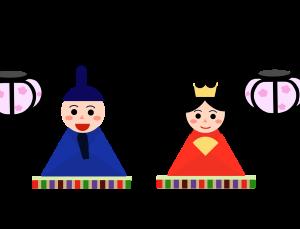 雛人形のイラスト 3