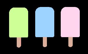 アイスのイラスト