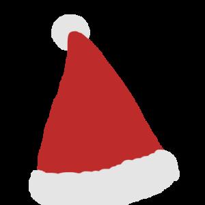 サンタさんの帽子イラスト