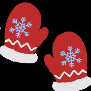 手袋のイラスト(クリスマス)
