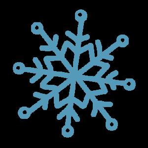 雪の結晶イラスト 5