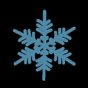 雪の結晶イラスト 6