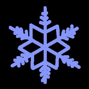 雪の結晶のイラスト 9