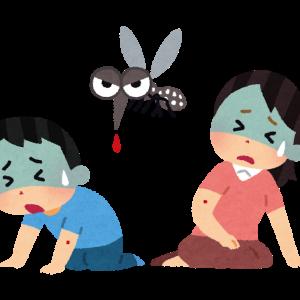 蚊を叩いたら血が…。潰した蚊の血から病気になるリスクは??