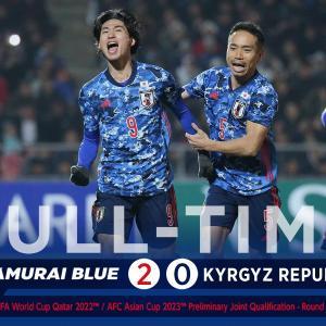 完勝?辛勝?サッカー日本vsキルギスをプレイバック!