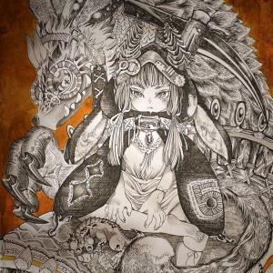 ドラゴンなドールとイラストをヤフオク出品中です。