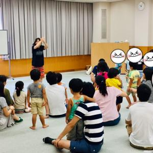 スポーツ教室で英語レッスン