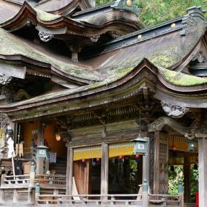 紙の神様・岡太神社/大瀧神社