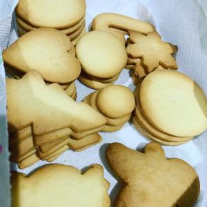 てんとう虫のアイシングクッキーを作りました!