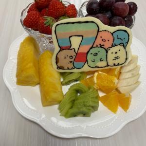 長女7歳の誕生日!ケーキ嫌いは〇〇でお祝い