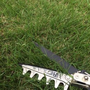 キンボシの芝生はさみが生産中止!