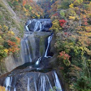 袋田の滝に行ってきました。水量が少ないんですが