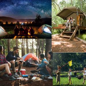 キャンプは旅行よりも 性格やコミユニケーション力がわかりやすい