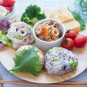 常備食材で、おにぎり作ったよ〜(^O^)/