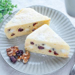 ラク旨♡クリームチーズとクランベリーの蒸しケーキ♪