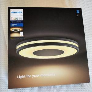 【照明交換】フィリップスHue対応 LEDシーリングライトを取り付けました