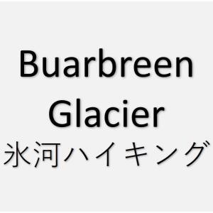 Buarbreen Glacierで氷河ハイキング【往復3時間】