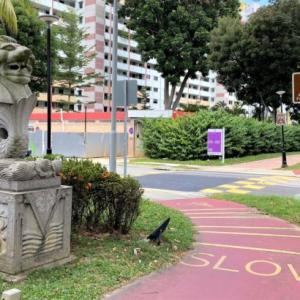 【シンガポールマニアック散歩】ツインマーライオン【Ang Mo Kio】