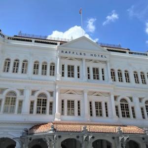 【予約情報あり】シンガポールの王道アフタヌーンティー【ラッフルズホテル】