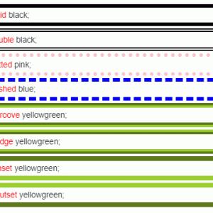 【CSS】ボックス装飾によく使うプロパティ おさらいとサンプル集