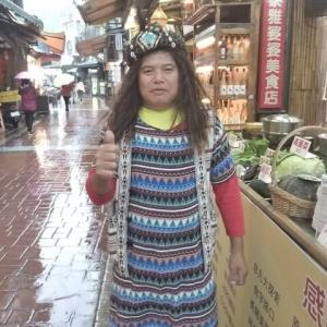 台湾観光 烏來老街