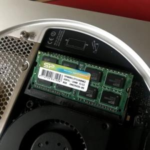 MacMini2012 メモリ増設