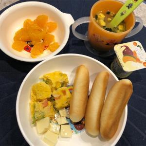 【離乳食後期〜完了期】朝ごはんの用意の仕方