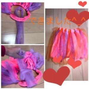 小学生でもできる簡単ハロウィン用スカート 作り方